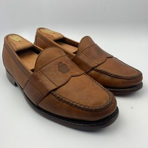 Polo Ralph Lauren 11 D Men  Brown Shoes logo seal